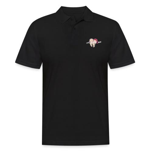 Enkel Logo - Poloskjorte for menn