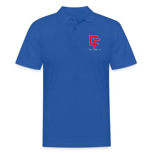CF Final White Border t shirts with text thin whit - Men's Polo Shirt