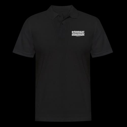 Overnight - Männer Poloshirt