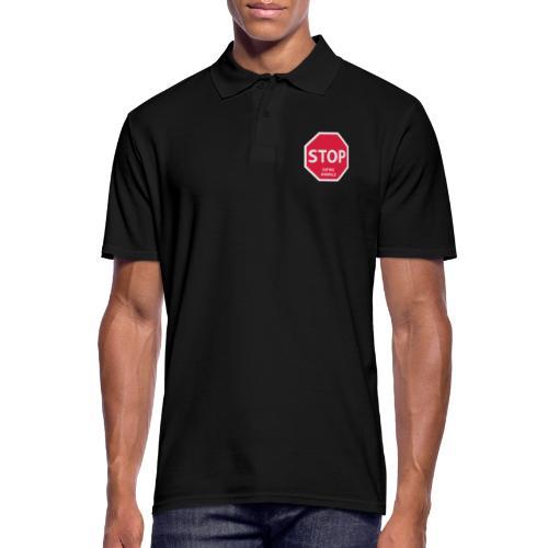 Stop-Eating-Animals - Männer Poloshirt