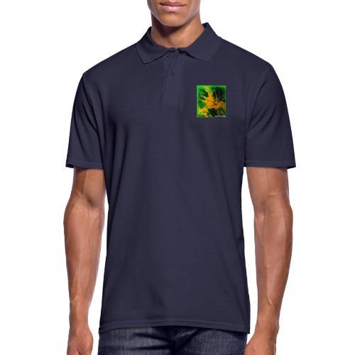 TIAN GREEN Mosaik DE002 - Welt der Wunder - Männer Poloshirt