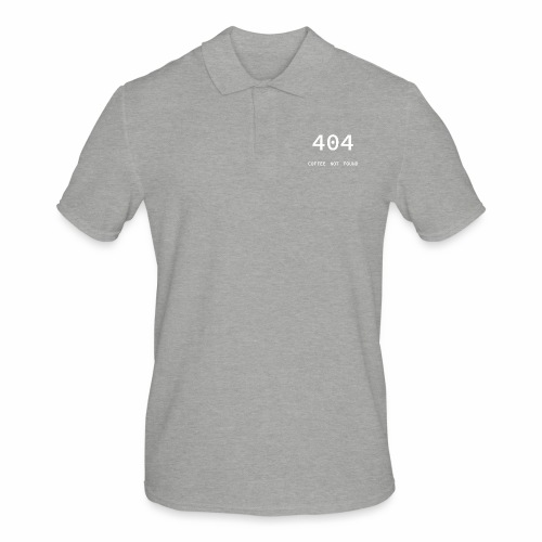 404 Coffee not found - Programmer's Tee - Men's Polo Shirt