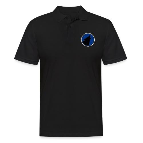 The Wolfs Howl - Original - Large Design - Men's Polo Shirt