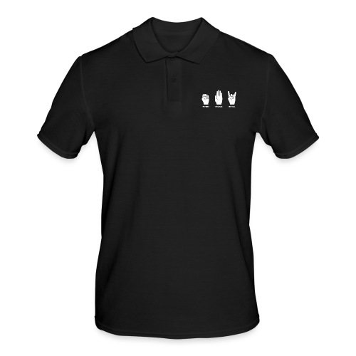 Pierre feuille metal - Polo Homme