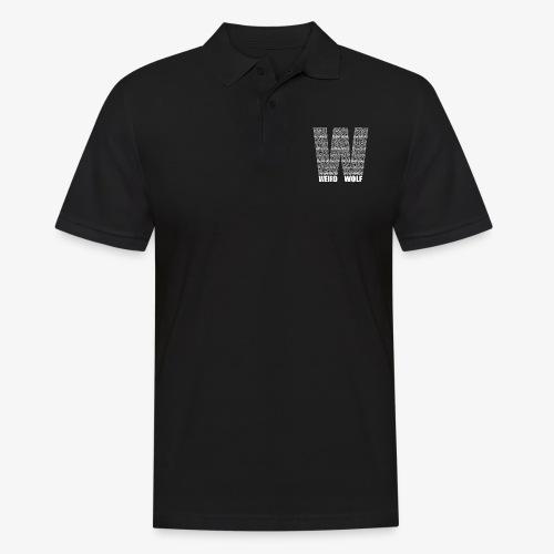 The Big W (White) - Men's Polo Shirt