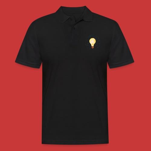 5 IDEEN Glühbirne 2018 - Männer Poloshirt