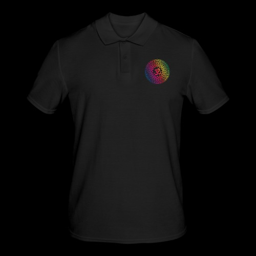 Mindfulness - Om design - Koszulka polo męska