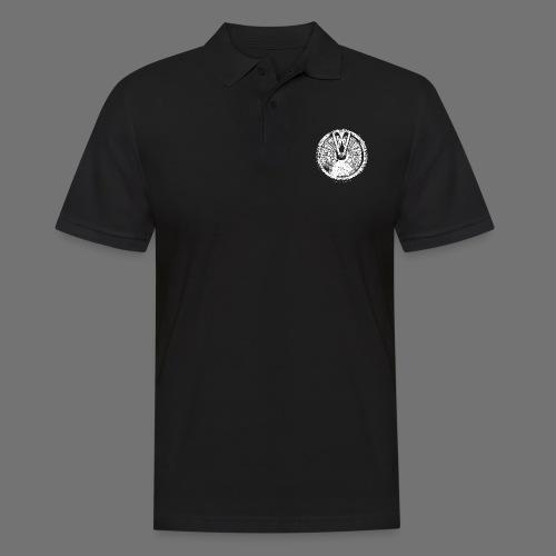 Maschinentelegraph (white oldstyle) - Männer Poloshirt