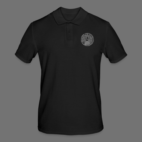 Maschinentelegraph (gray oldstyle) - Men's Polo Shirt