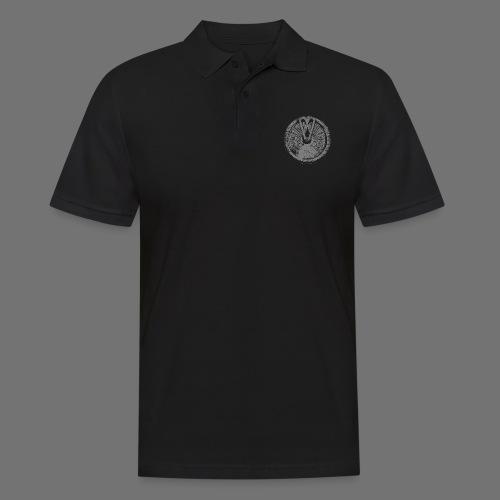 Maschinentelegraph (grey oldstyle) - Männer Poloshirt