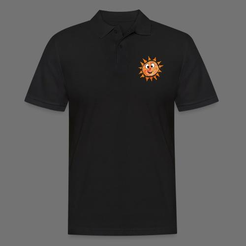 Słońce - Koszulka polo męska