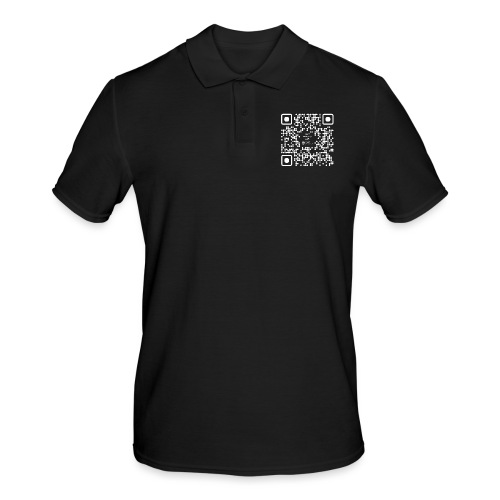 QR The New Internet Should not Be Blockchain Based W - Men's Polo Shirt
