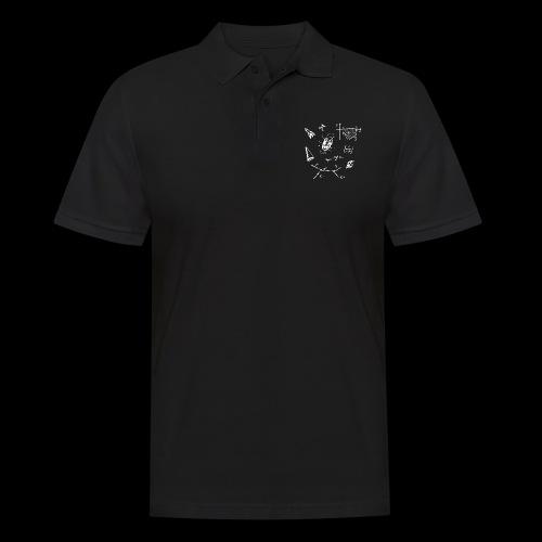 Doodles Weiss - Männer Poloshirt
