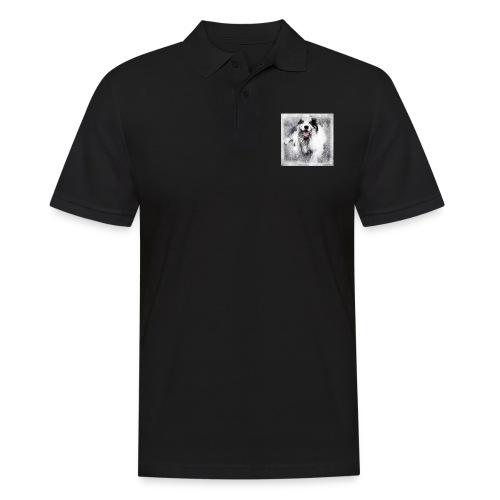 Cody bw - Männer Poloshirt