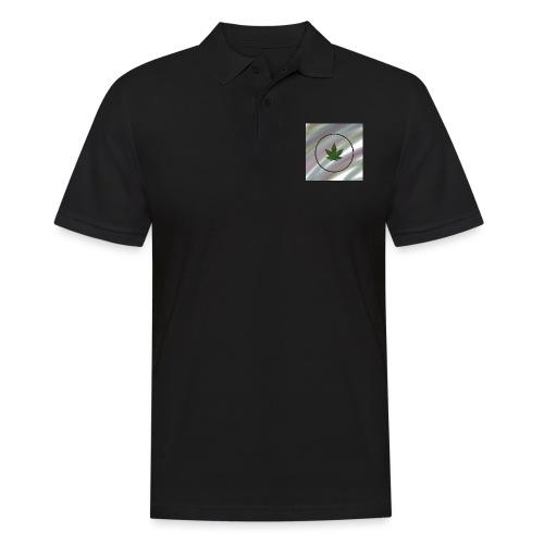 Hanfblatt - Männer Poloshirt