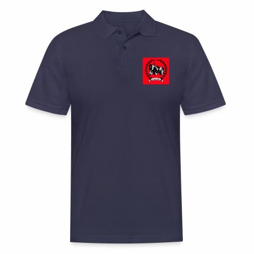 KonradSB czerwony - Koszulka polo męska