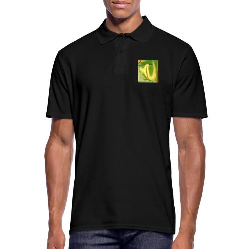 Abstract Green Gold Red - Men's Polo Shirt