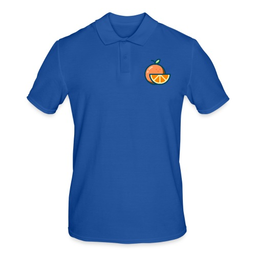 orange - Men's Polo Shirt