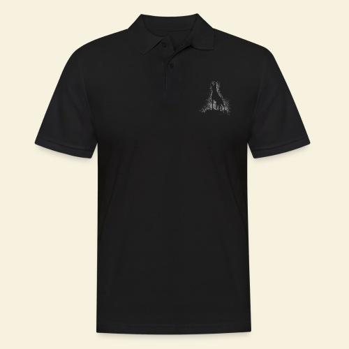 Dog Silhouette - Männer Poloshirt