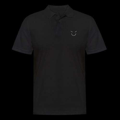 Gute Laune Weiss - Männer Poloshirt