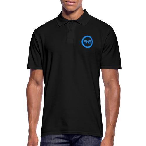 3DNS Logo 3x - Männer Poloshirt