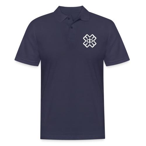 d3eplogowhite - Men's Polo Shirt