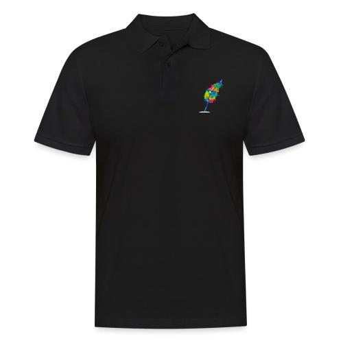Original Schreiben-im-Flow.de - Feder - Männer Poloshirt