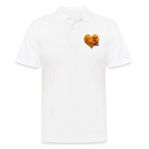Herz für den Titisee - Männer Poloshirt