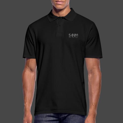 søøn - when, doesn't matter - Männer Poloshirt