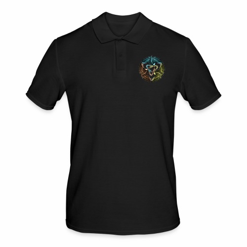 Kraniche - Männer Poloshirt