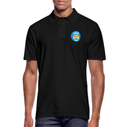 Liberale Gamer Wappen - Männer Poloshirt