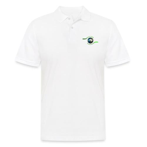 LOGO white font - Men's Polo Shirt