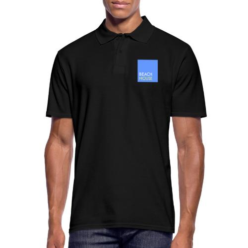 Blue Summer Logo - Men's Polo Shirt