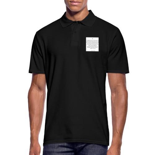 2 Möglichkeiten - Männer Poloshirt