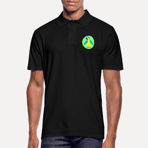 Yellow-breasted Macaw - Men's Polo Shirt