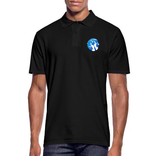 Gleam Hands loho - Men's Polo Shirt