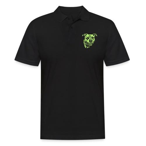 Staffbull negativ - Männer Poloshirt