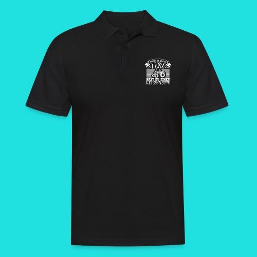 Lanz-Bulldog kurz - Männer Poloshirt