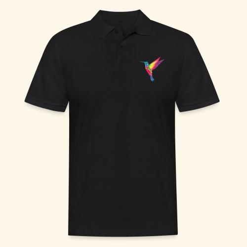 Kolibri - wild und frei - Männer Poloshirt