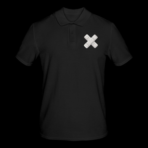 Xanax X Logo - Männer Poloshirt