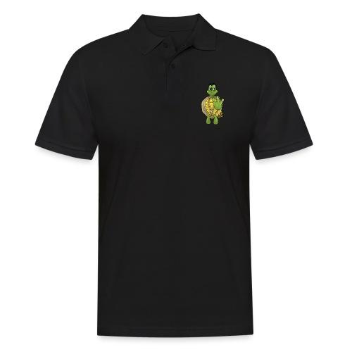 Graffiti Hip-Hop West-Coast Turtle / Schildkröte - Männer Poloshirt