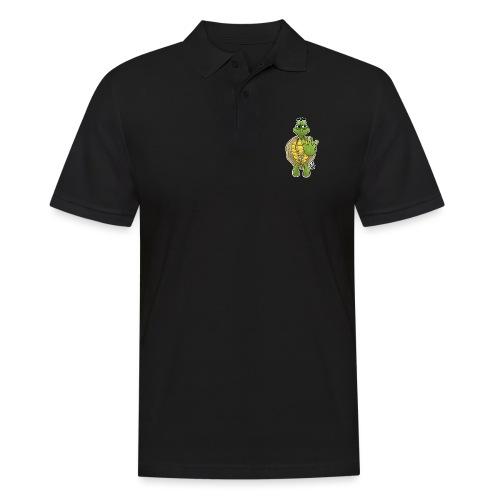West Coast Schildkröte / Hip-Hop Turtle - Männer Poloshirt