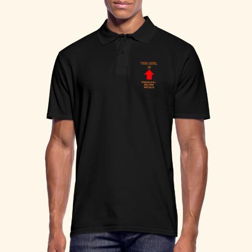 Level Trouble Geschenk - Männer Poloshirt