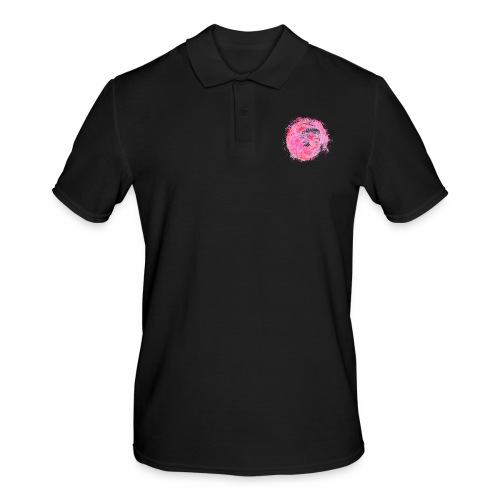 Paint It Pink! - Männer Poloshirt