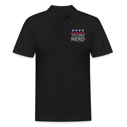 Techno Nerd - Men's Polo Shirt