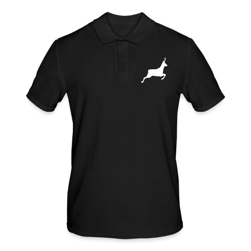 T-shirt Chasse personnalisable - motif chamois - Polo Homme