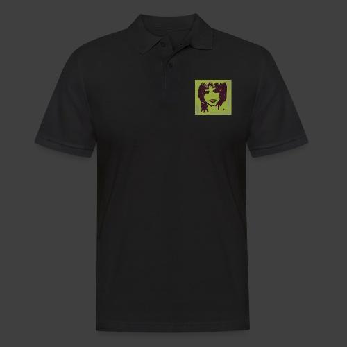 Green brown girl - Men's Polo Shirt