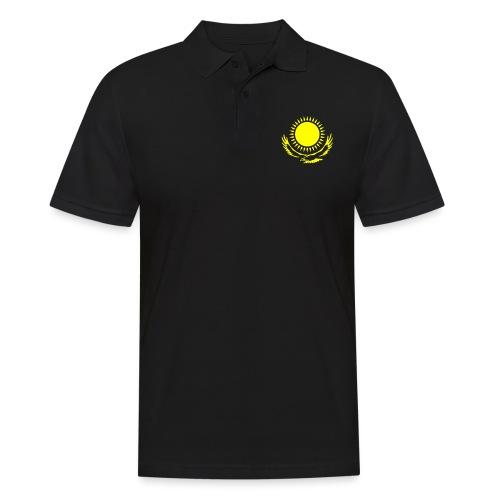Kasachstan-Wappensymbol - Männer Poloshirt