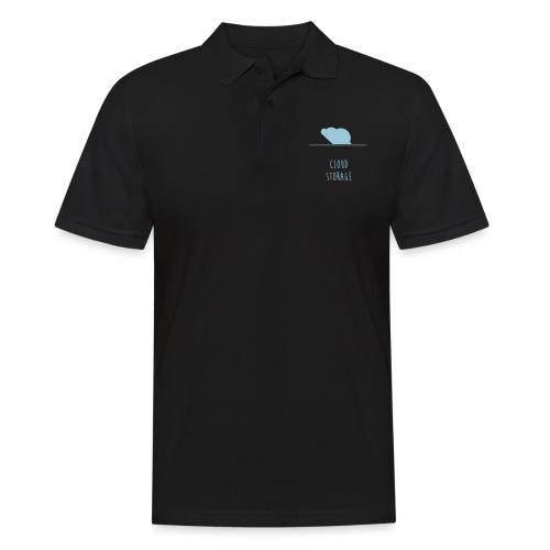 Cloud Storage - Männer Poloshirt