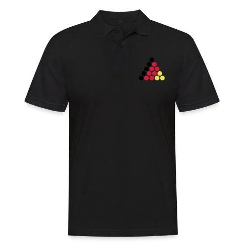 snooker deutschland - Männer Poloshirt